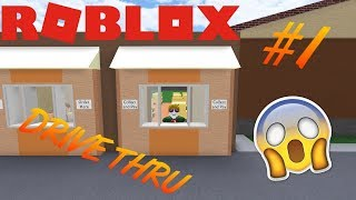 DRIVE TRHU and OUTDOOR AREA! #3 Roblox Restaurant Tycoon-Danish-Roblox