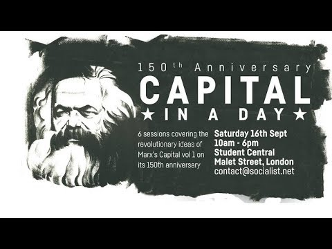 150 years on: the relevance of Marx's Capital