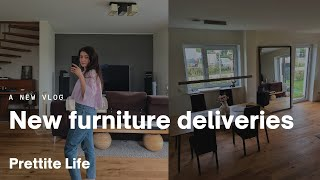VLOG: new furniture deliveries | Prettite Life