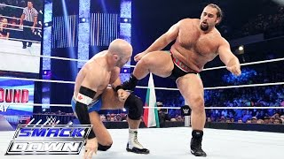 Cesaro vs. Rusev: SmackDown, July 16, 2015