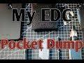 My EDC (Every Day Carry) Pocket Dump