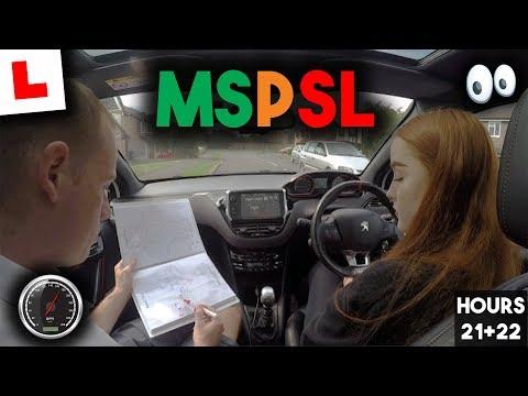 UK Driving Lesson - Using MSPSL @Junctions