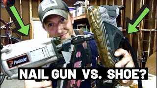 INDESTRUCTIBLE SHOES?! How BULLETPROOF are they?? (Indestructible Shoe Tests)