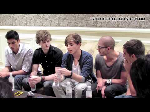 The Wanted Interview Part 1