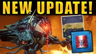 Destiny 2: JULY UPDATE is HERE! - New Exotic Catalysts! - Exotic Buffs! | Patch 1.2.3