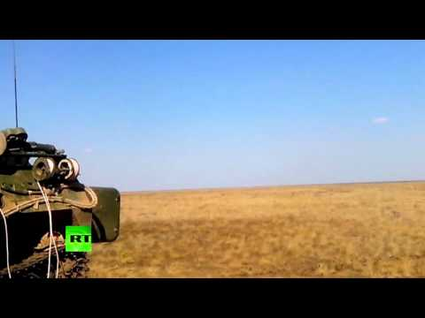 Rare Video Shows Russian Anti-Air Tor-M2U Firing On Move, Newest S-300V4 Night Shooting