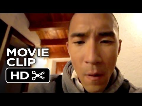 Afflicted Movie CLIP  Chase Out Window 2014  Found Footage Thriller HD