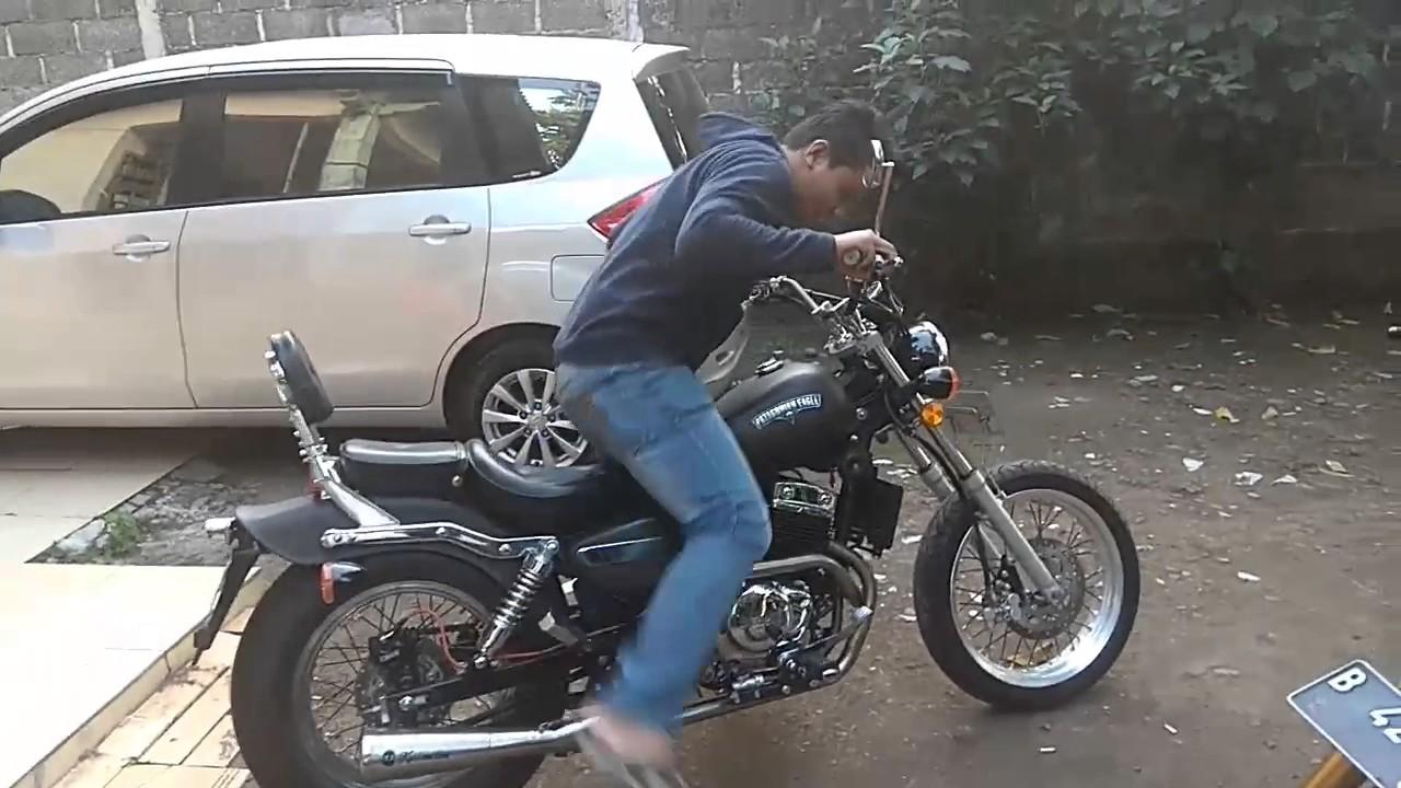Riding Position Benelli Eagle Motobi 250