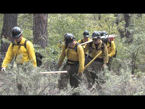 2010 Granite Mountain Hotshots train hard