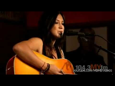 Michelle Branch - Sooner Or Later (Live Acoustic)
