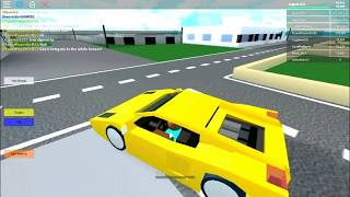 Roblox Playing with cars