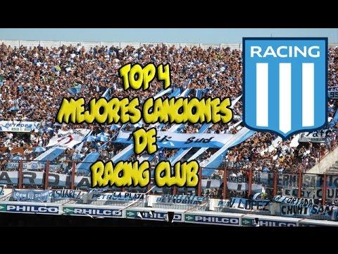 Las 4 mejores canciones de Racing Club/CON LETRA/ EL GASHEGO
