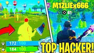 I 5 HACKER PIÙ PERICOLOSI DI FORTNITE!! Kill a Ninja?!