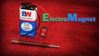 كيفية صنع مغناطيس كهربائي - مشروع العلوم