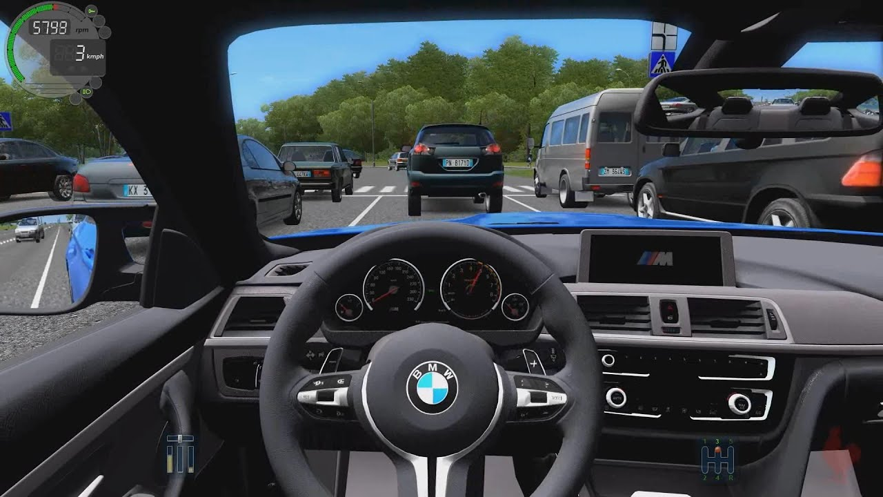city car driving - bmw m4 f82 - youtube