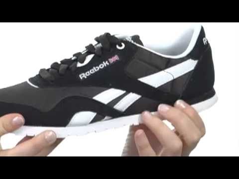 Reebok Lifestyle Classic Nylon Slim Monocolor SKU  8140130 - YouTube 2062e0945