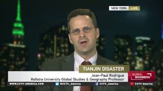 Jean-Paul Rodrigue on Tianjin recovery