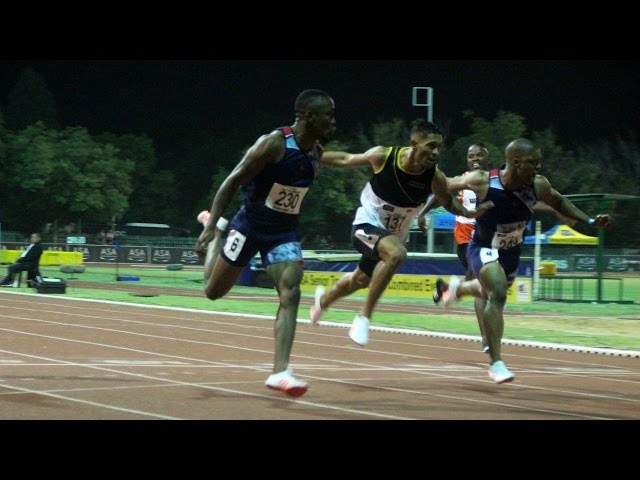 Akani Simbine crowned the new SA 100m Champ