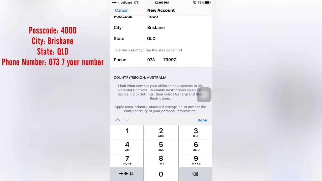 How to Create Apple ID Australia Free