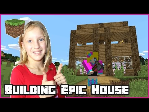 Building an Epic House for Ronald / Minecraft