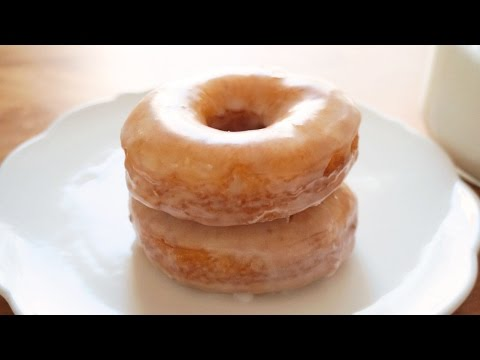 how to make simple doughnut at home
