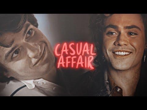 » Steve + Billy [AU] | Casual Affair