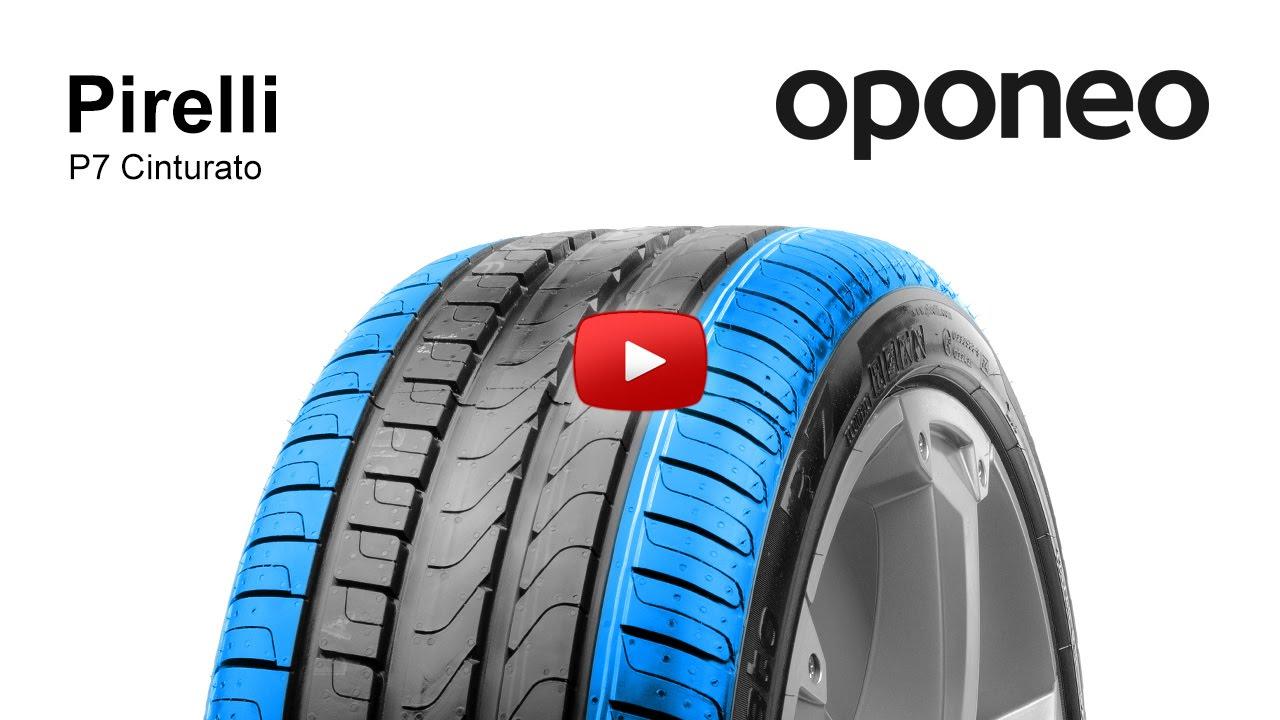 pneu pirelli p7 cinturato pneus t oponeo youtube. Black Bedroom Furniture Sets. Home Design Ideas
