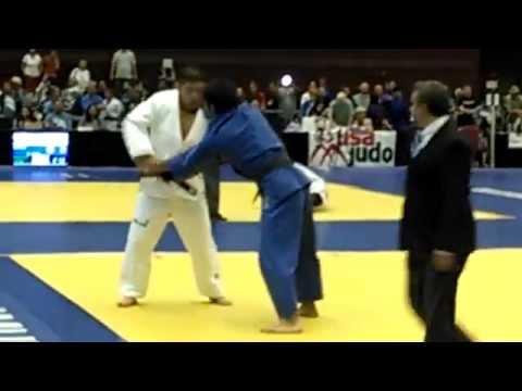 Satoshi ISHII vs Tokuzo TAKAHASHI, 2014 USA Judo Senior Nationals, (Re-match)