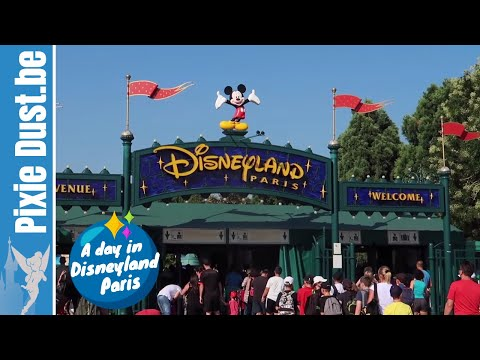 📆 A day in August 2018 at Disneyland Paris