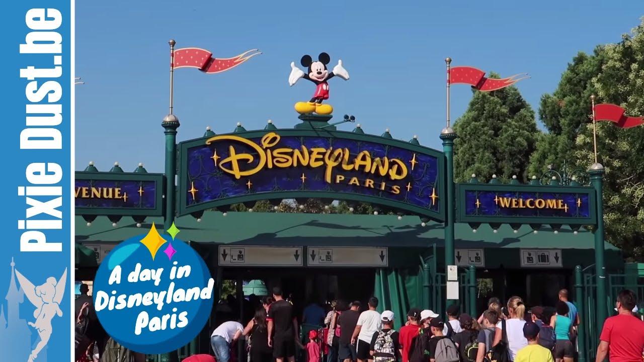 Disneyland Paris Karte 2018.A Day In August 2018 At Disneyland Paris