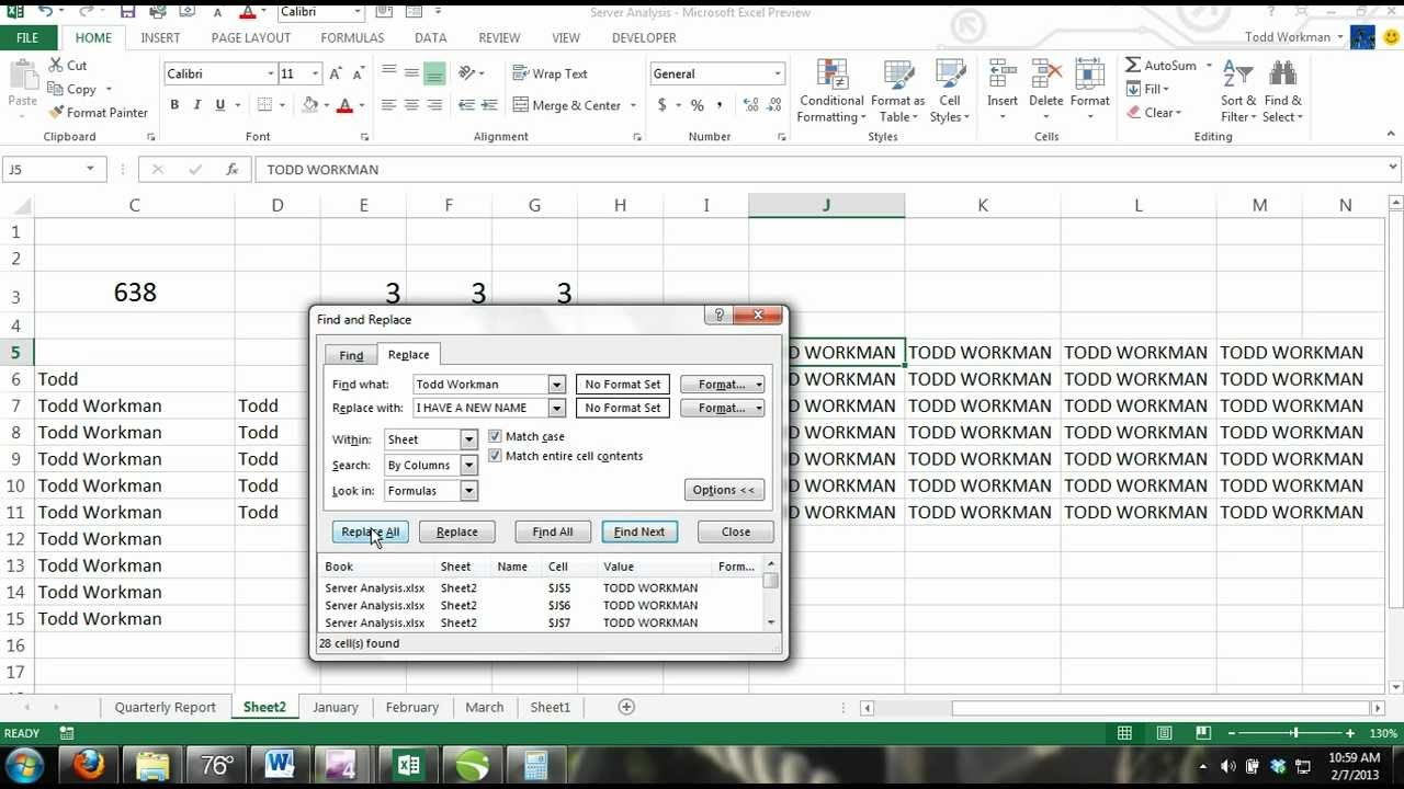find and replace in pdf