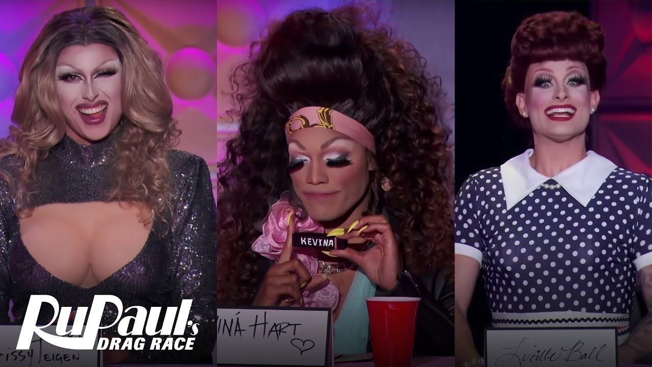 Download The Snatch Game ft. Chrissy Teigen, Kevina Hart & Lucille Ball | RuPaul's Secret Celebrity Drag Race