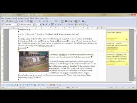 5. Teil Grafiken einfügen mit OpenOffice Writer