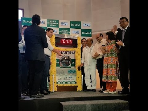 Listing Ceremony of Avenue Supermarts Limited (D-Mart)