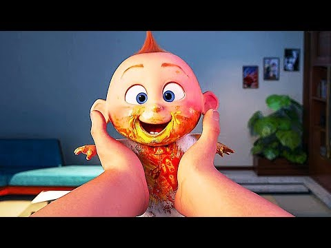 """INCREDIBLES 2 """"Dirty Baby Jack Jack"""" Trailer NEW (Animation, 2018)"""