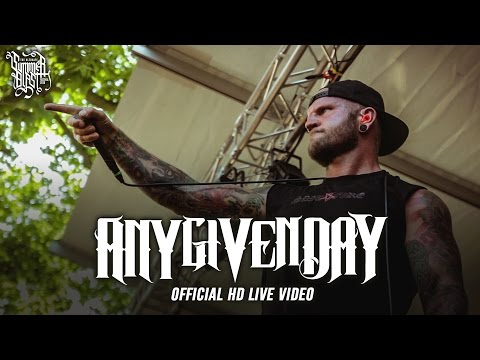 Any Given Day - Summerblast 2016 (Official HD Live Video - Full Concert)