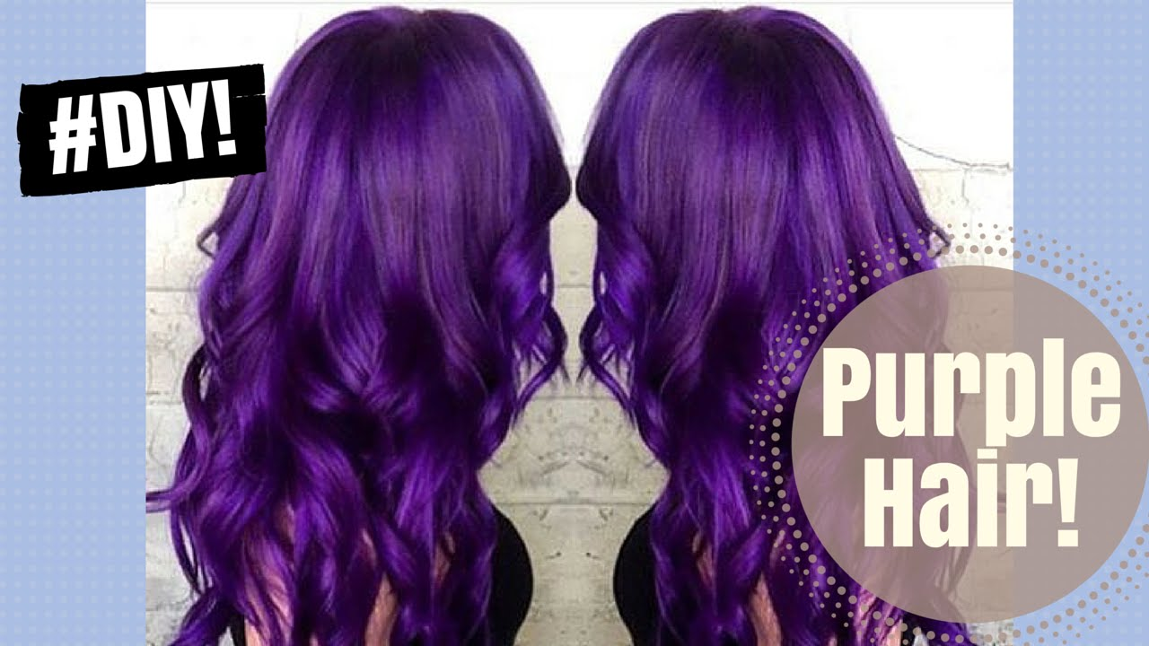 Purple Hair Dye Youtube