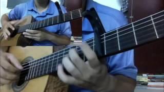 Sau tim thiep hong (Quang Le - Le Quyen) [Hoa tau Duo Guitar] [K'K]