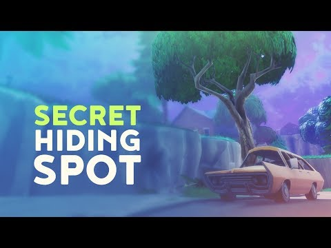 SECRET HIDING SPOT (Fortnite Battle Royale)
