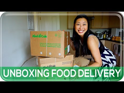 ORGANIC FOOD DELIVERY UNBOXING: ABEL & COLE