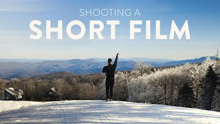 Behind the Scenes of a Short Film | Snowboarding/Dance Cinematography