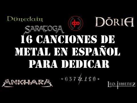 16 canciones de metal en español para dedicar.