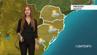Previsão Sul - Ar seco se intensifica