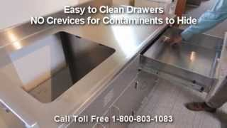 Stainless Steel Lab Casework | Metal Laboratory Cabinets | Modular Hospital Medical Casework Thumbnail