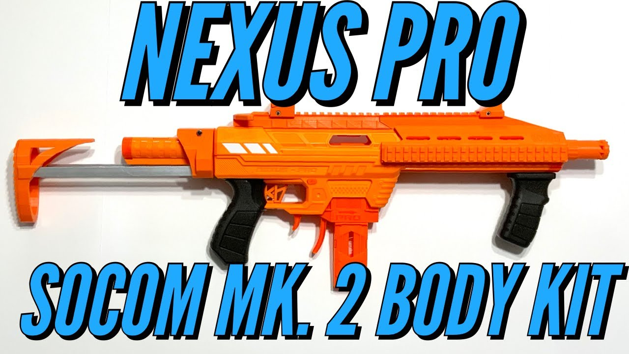 Nexus Pro SOCOM MK. 2 Body Kit - Frantz Foam Works [4K]