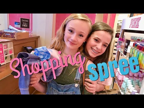 $1000.00 Spring Shopping Spree and Tornado scare with Princess Ella and CC