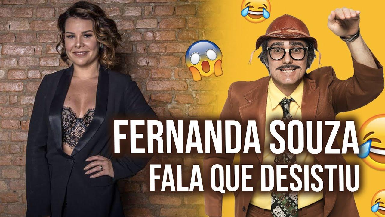 FERNANDA LIMA FALA QUE DESISTIU. - Programa - 04.03.2021