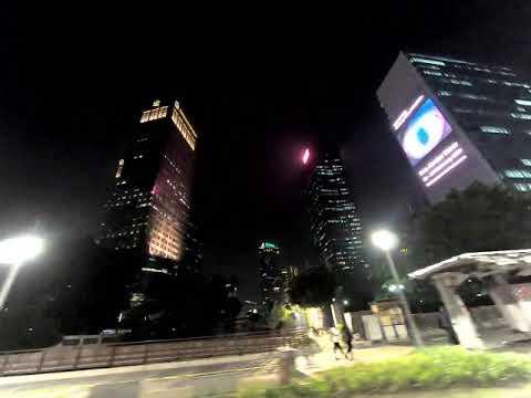 ジャカルタ中心夜景/Jakarta Downtown Night View