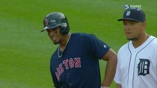 Бейсбол. MLB. Детройт Тайгерз - Бостон Ред Сокс (19.08.2016) [RU]