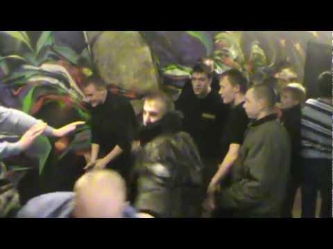 пивная арена Новосибирск 25,03,12 беспридельная охрана